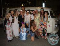 Il gruppetto... hippie!