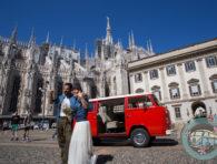 Gli sposi e il Duomo... rock!